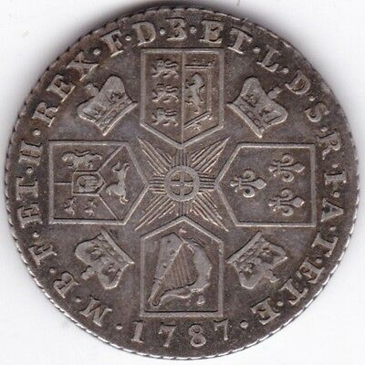 1787 George III One Shilling***Collectors***Silver***