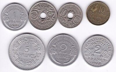 Mix Of French Coins***Collectors*** (F2)