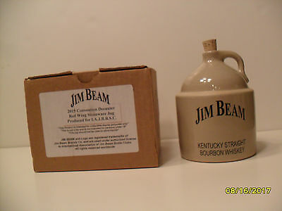 Jim Beam/International/Red Wing 2015 Convention Jug Decanter