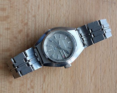 Dolmaru automatic women's watch day date 27mm ss bracelet for PARTS/SPARES