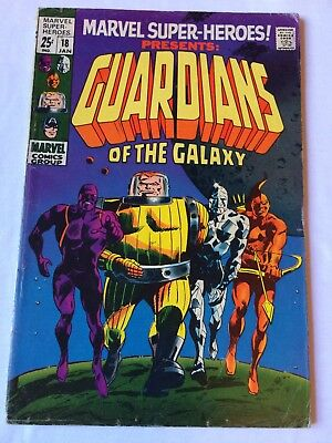 Marvel Super-Heroes 18 FIRST GUARDIANS OF THE GALAXY