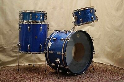 Ludwig Vintage New Yorker 1960s 3 Pieces Drums