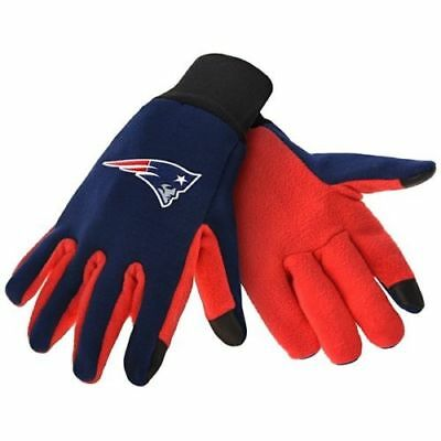 New England Patriots  Nfl Texting Technology Gloves Free Shipping