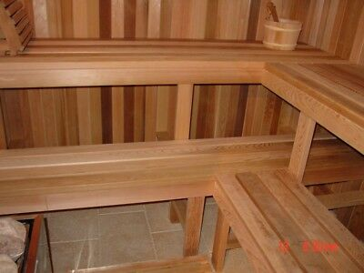 Sauna Material Diy Kit (Top Quality Material And By Far Best Heaters)