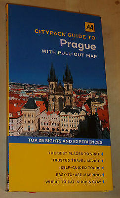 Aa Twin Citypack Guide To Prague (Travel Guide & Street Map) Latest 2016 Edition