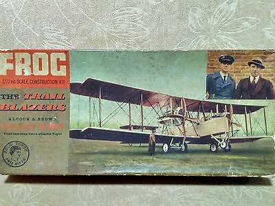 AIRFIX, REVELL VINTAGE, FROG 1/72 THE TRAIL BLAZERS Trans-Atlantic Vickers Vimy