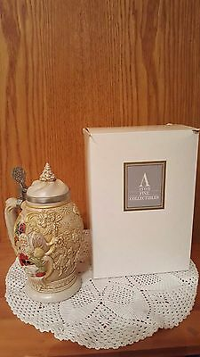 Handcrafted Avon Stein Father Christmas 1994