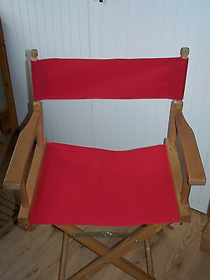 Get New Covers For Your Directors Chair ! 3 Sizes -  6 Colours