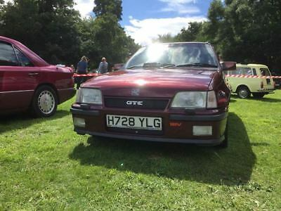 Vauxhall Astra GTE