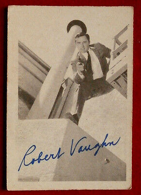 THE MAN FROM UNCLE - Robert Vaughn - Napoleon Solo - A & BC Ltd, Card #44 - 1965