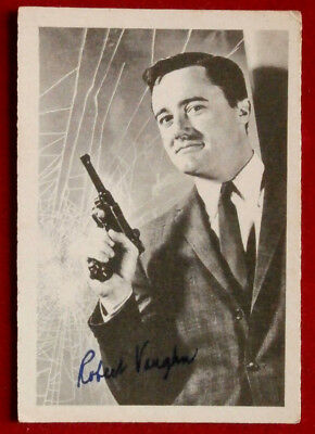THE MAN FROM UNCLE - Robert Vaughn - Napoleon Solo - A & BC Ltd, Card #17 - 1965