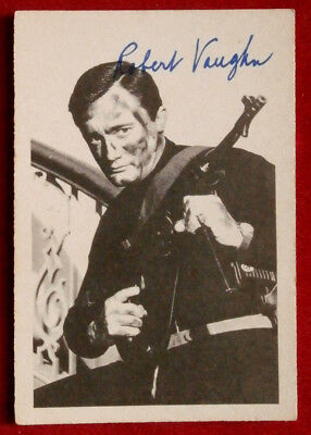 THE MAN FROM UNCLE - Robert Vaughn - Napoleon Solo - A & BC Ltd, Card #23 - 1965