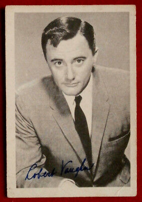 THE MAN FROM UNCLE - Robert Vaughn - Napoleon Solo - A & BC Ltd, Card #39 - 1965