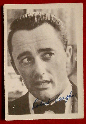 THE MAN FROM UNCLE - Robert Vaughn - Napoleon Solo - A & BC Ltd, Card #47 - 1965