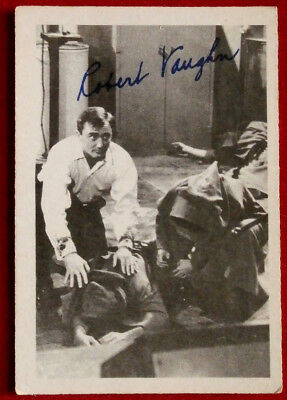 THE MAN FROM UNCLE - Robert Vaughn - Napoleon Solo - A & BC Ltd, Card #21 - 1965