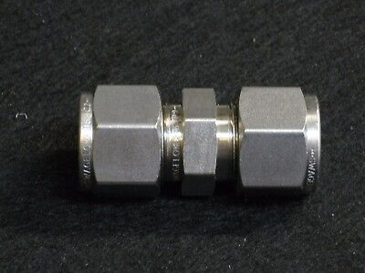 """Swagelok 1/2"""" Union  316SS  (SS-810-6) 1/2""""  compression fitting"""