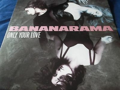 1990 2 X 12 Inch Single By Banamarama- Only Your Love- Nanx21 And Nanxrr21