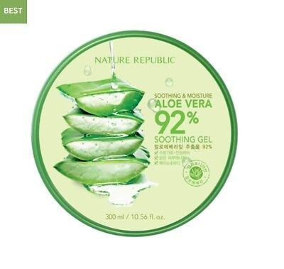 Nature Republic  Aloe Vera 92% Soothing Gel 300ml  Soothing&Moisture
