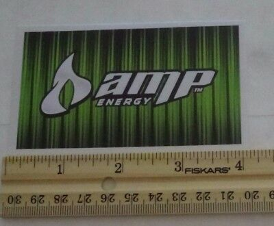 AMP ENERGY STICKER~ Sticker/Decal Soda Advertisements