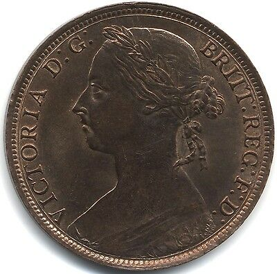 1885 Victoria One Penny***High Grade***Collectors***