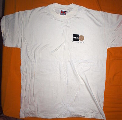 Tee-shirt RFM - radio fm (NEUF) collection collector - mixte taille L