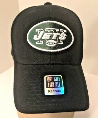 bd527da8279 NY JETS New York NFL Logo Black Hat Onfield FitMax 70 Reebok Black Green  Cap NEW