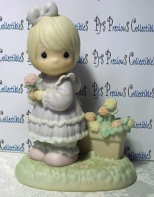 "Precious Moments ""So Glad I Picked You As A Friend"" Flowers 524379 NB V=$55"