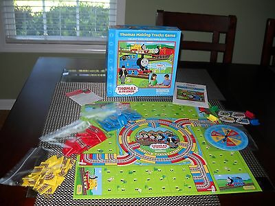Thomas Making Tracks Board Game Tank Engine Train Briarpatch Ages 4+ Complete