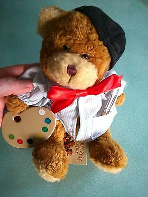 Alphonse The Artist-Soft Teddy From 'the Teddy Collection' - New With Tags