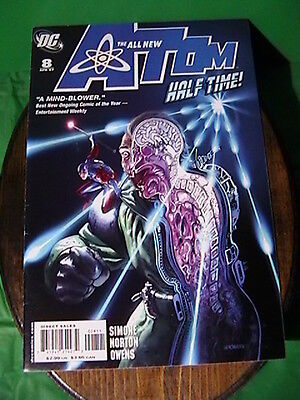 "The All New Atom #8 ""dc Comics Apr.2007"" Nm Condition Bagged & Boarded!"