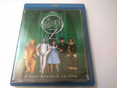 The Wizard of Oz (Blu-ray Disc, 2009, 3-Disc Set, Emerald Edition)