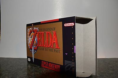 The Legend of Zelda: A Link to the Past Box Only SNES Replacement Art Case/Box
