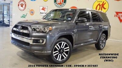 2016 Toyota 4Runner 16 4-RUNNER LIMITED 4WD,SUNROOF,NAV,BACK-UP,HTD/CO