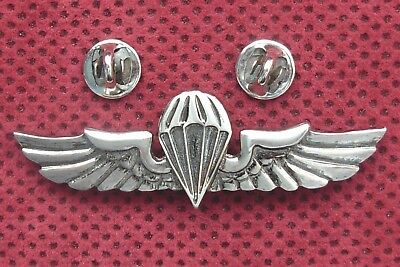 Army Of Republic Of Serbia -  Parachuters Breast Badge With Number 63