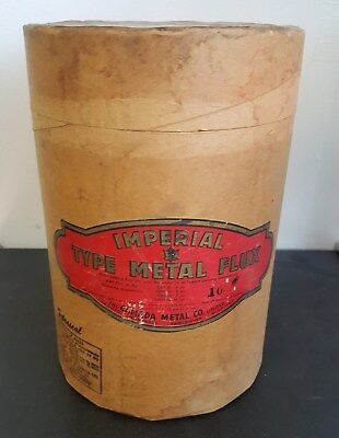 Vintage Imperial Metal Flux Fiber Barrel