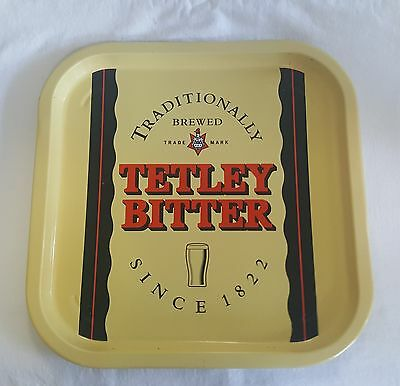 Tetley Bitter Traditionally Brewed Since 1822 Square Tray