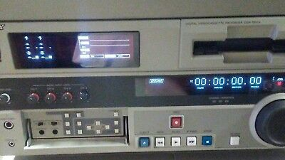 Sony Dsr-1800A Dvcam Vtr Professional Recorder / Player With Road Case
