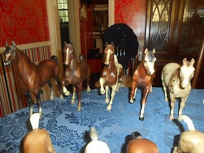 Breyer Vintage Horses 12 Horses + 8 Funrise  20 Total All For 1 Money Look Wow