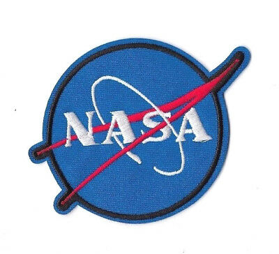 NASA IRON ON / SEW ON PATCH Embroidered Badge Motif ASTRONAUT SPACE PT184