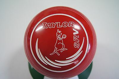 New Taylor SRV Lawn Bowls, - Red - Size 1H - WB26