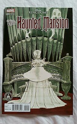 Disney Haunted Mansion Marvel Comic Book 001 Park Variant Sold Out WDW Exclusive