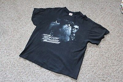vintage zz top beer drinkers and hell raisers graphic shirt rock tour merch XXL
