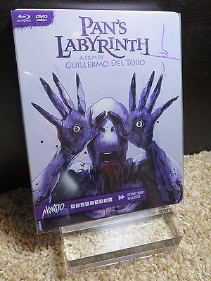 Pan's Labyrinth Blu-Ray Steelbook Mondo #004 Signed Autographed by Jock