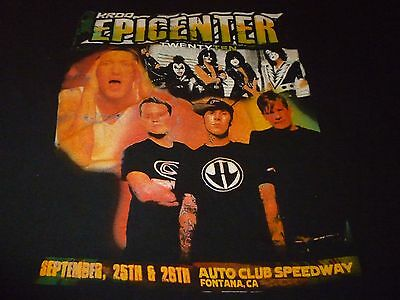 Kroq Epicenter Tour Shirt ( Used Size XL ) Very  good Condition!!!