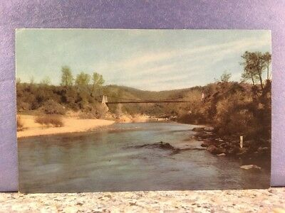 POSTCARD Gas Station series American River, gold was discovered