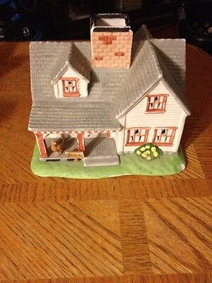 PARTYLITE Country House W/hen & Eggs Sign