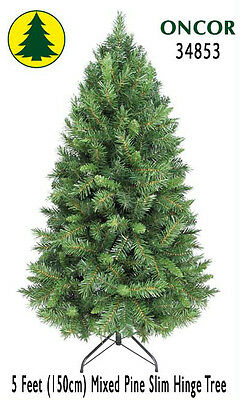 5ft Eco-Friendly Oncor Slim Mixed Pine Tree [Warehouse Deal]