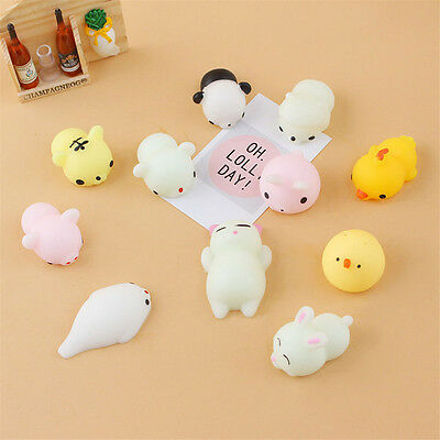 Cute Mini Squishy Animals Anti Stress Reliever Mood Vent Squeeze Toy Popular EA