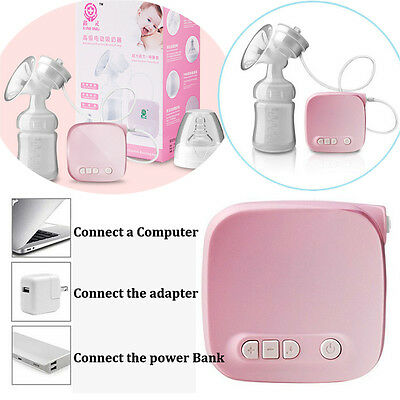 150ML  Electric Comfort Breast Pumping Breastpump Feeding Suction Bottle GN