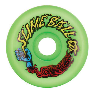 Santa Cruz - Slime Balls Vomits Green 60MM 97A Skateboard Wheels